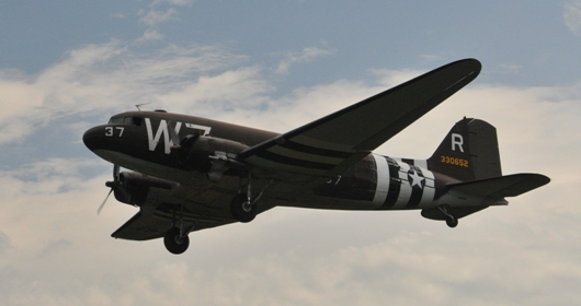 C-47D_Skytrain_takeoff_BLOG